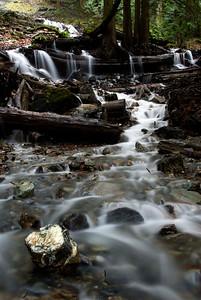 Bridal Falls with Creek