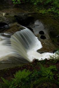 Kanaka Falls with 2 holes