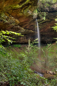 Slave Falls, Big South Fork National River and Recreation Area, Tennessee