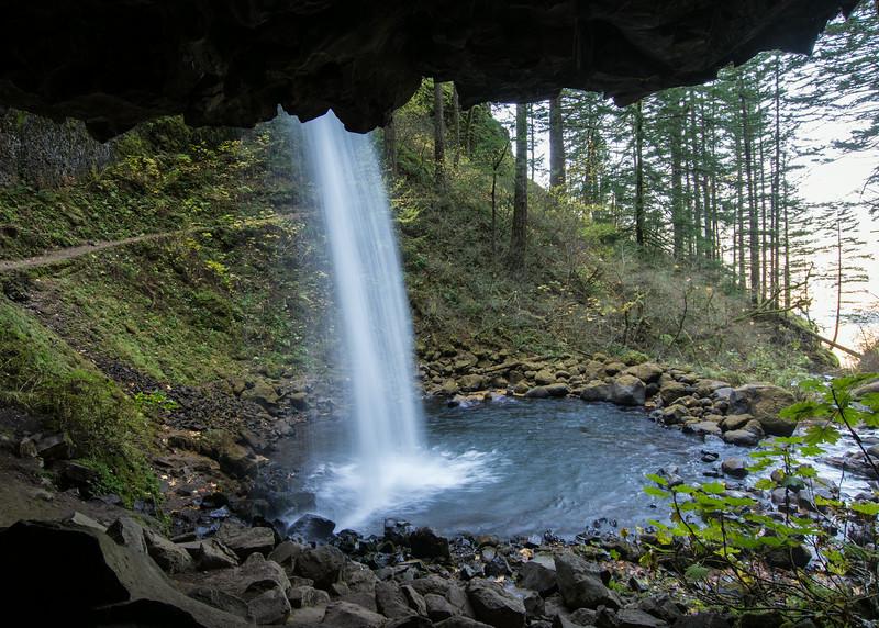 Upper Horsetail Falls, Oregon
