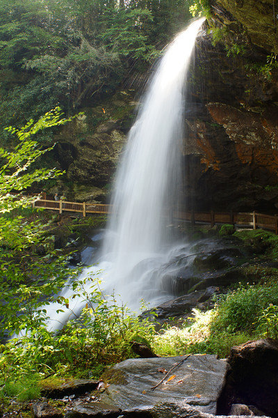 Dry Falls, North Carolina