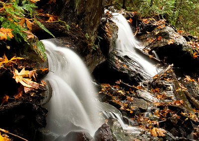 Bridal Falls, in the fall 2