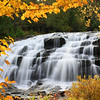 """ Bond Falls in the Fall """