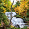 """Autumn at Sable Falls"""