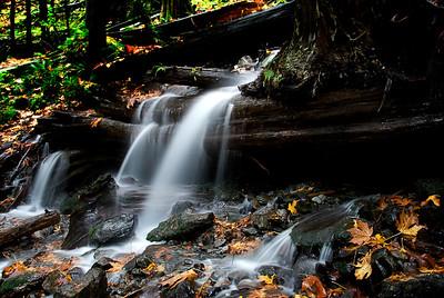Bridal Falls in the Fall, B.C. Canada