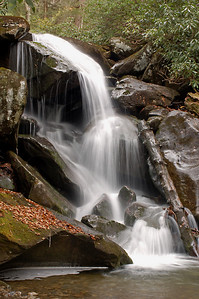 Beneath Ramsey Cascades, Great Smoky Mountains National Park, Tennessee