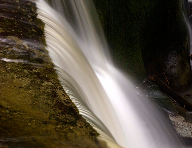 side view, Kanaka Falls