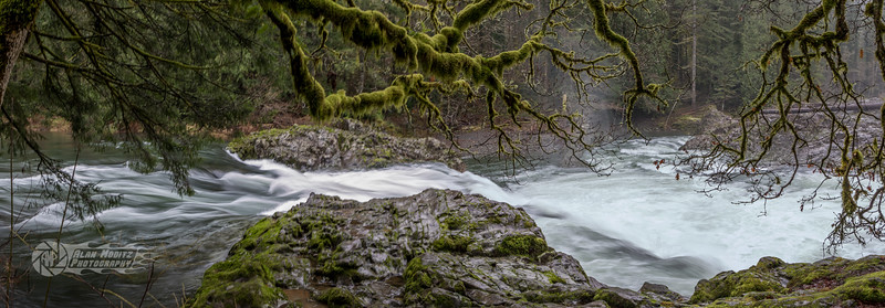 Lucia Falls in the Winter