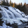 """ The Two side to Bond Falls ""  Paulding Michigan"