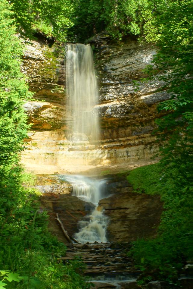 Munising Falls Pictured Rocks National Lakeshore Munising, Michigan