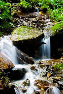Bridal Falls in the fall