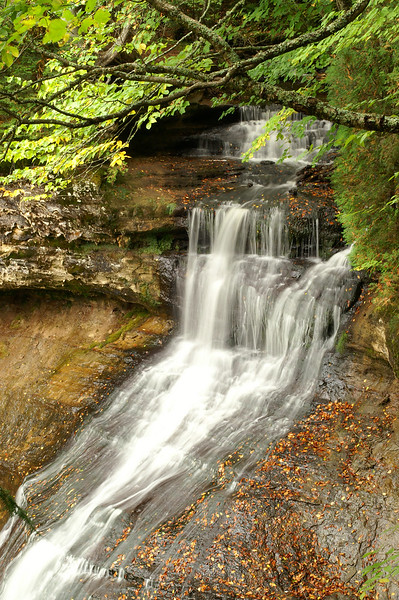 Chapel Falls<br /> Pictured Rocks National Lakeshore