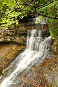 Chapel Falls Pictured Rocks National Lakeshore