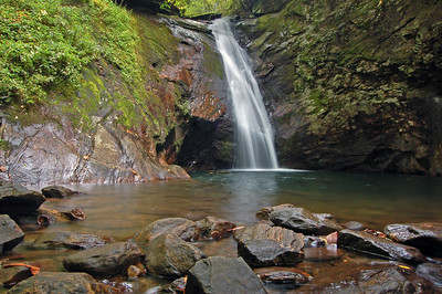 Courthouse Falls, Pisgah National Forest, North Carolina