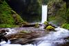 Wiesendanger Falls.  Located upriver from Multnomah falls.