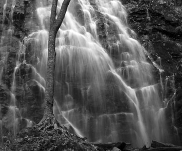 Crabtree Falls, Blue Ridge Parkway, North Caolina
