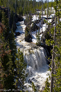 Kepler Cascades - Yellowstone National Park