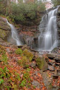 Soco Falls, Cherokee Indian Reservation, North Carolina