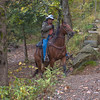 Trail rider at Falling Water