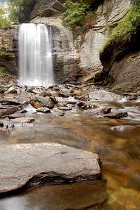 Looking Glass Falls, Pisgah National Forest, North Carolina