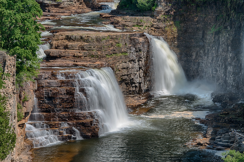Rainbow Falls - Ausable River