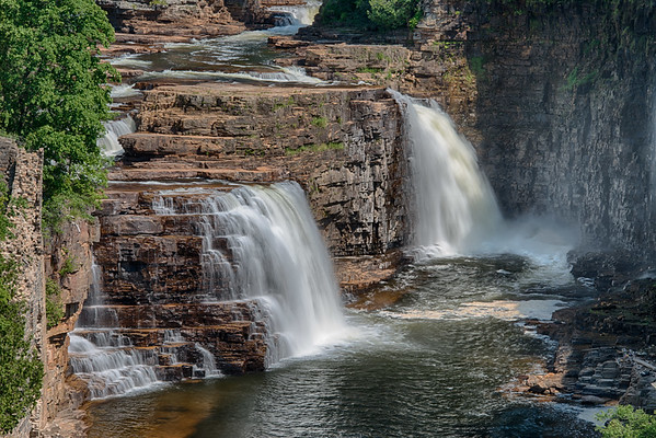 Rainbow Falls - Ausable River
