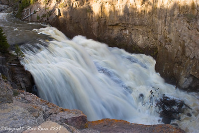 Gibbon Falls - Yellowstone National Park