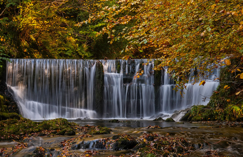Stock Ghyll Falls