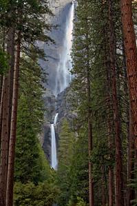 Yosemite Falls in Yosemite National Park.