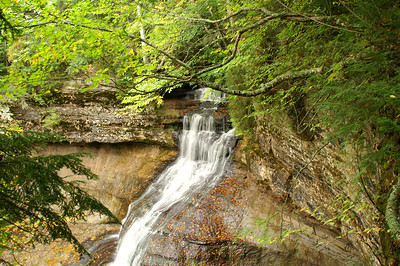 Chapel Falls, Pictured Rocks National Lakeshore