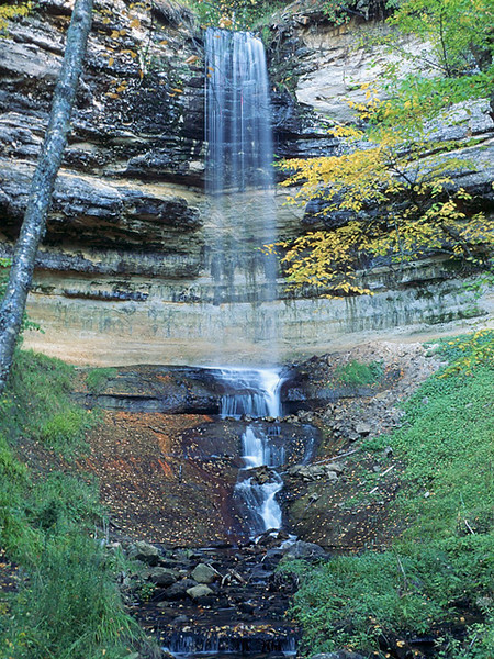 Munising Falls<br /> Pictured Rocks National Lakeshore