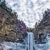 Taughannock Falls Cold NY