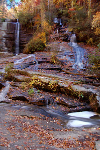 Twin Falls (Low Water Level), South Carolina