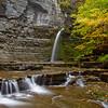 Eagle Falls At Montour Falls NY