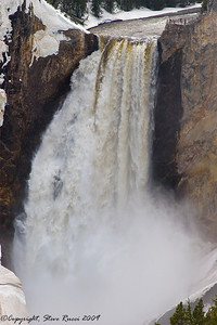 The Lower Falls of The Grand Canyon of the Yellowstone.