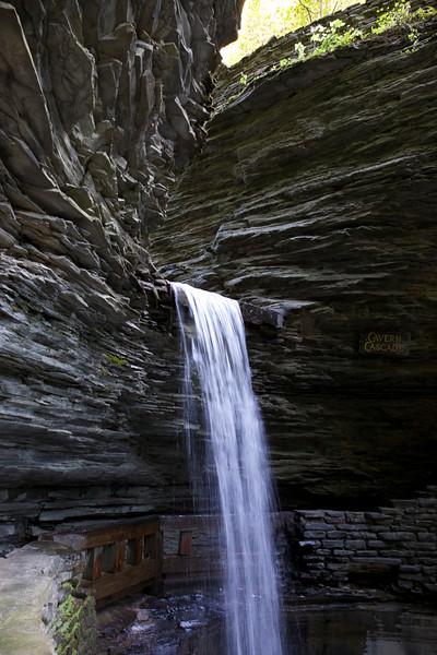 Cavern Cascade, slower.