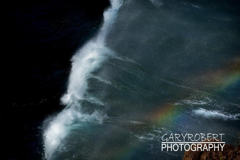 Surf from Above and Below the Rainbow