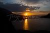 Sunrise above St. Mary's Lake, Glacier National Park
