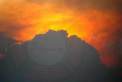 Carpenter1 Fire Sunset