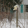 A birdhouse spotted in a Schoolhouse Hill Road yard.  (Hicks photo)