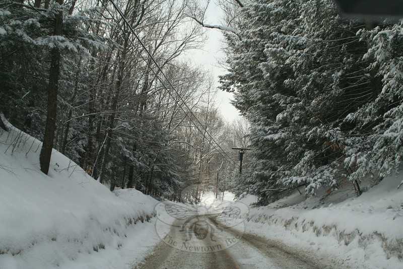 Walnut Tree Hill Road.  (Hicks photo)