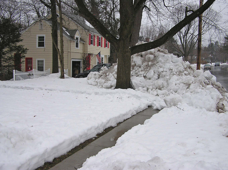 I shoveled the walk more than once but I give up.