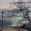 Anemometer at dawn