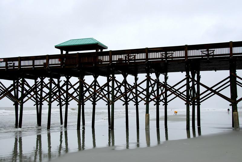 Tropical Storm Hanna on Folly Beach