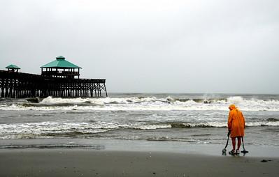 Hopefully the breaking waves wash something extra special ashore