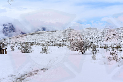 Whiteout in Southern Nevada 2