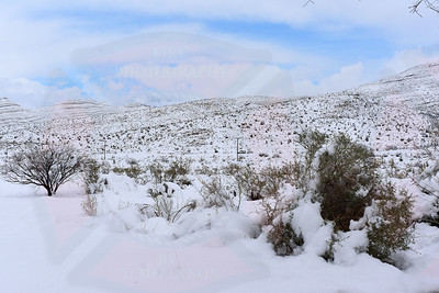 Whiteout in Southern Nevada 1