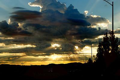 Sunrise Storm Clouds