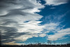 Cloud Sequence 2 - Low Clouds with Curving Edges