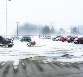 Snowy Day In Hartville